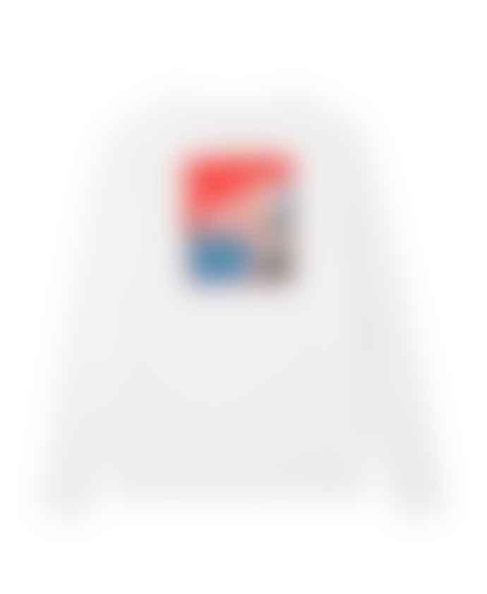 Champion White C X Ww Rodney Long Sleeve T Shirt