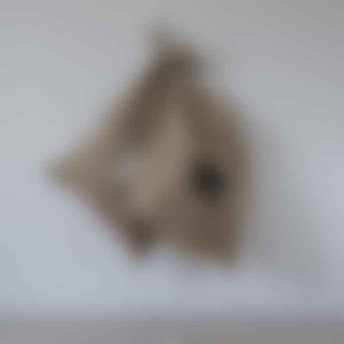 Madeleine & Gustave - Grey Star Jute Bag