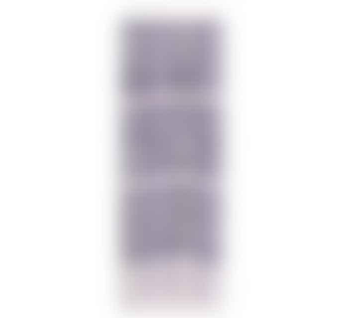 British Colour Standard Striped Gunmetal Gull Grey Candles