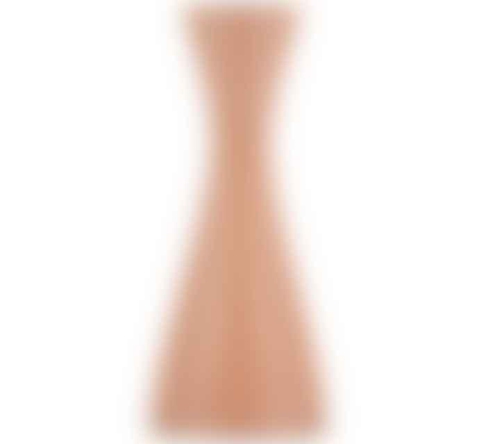 British Colour Standard Old Rose Candleholder
