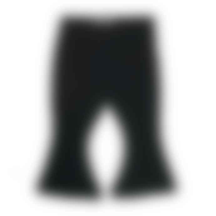 LittleIndians Black Flared Pants