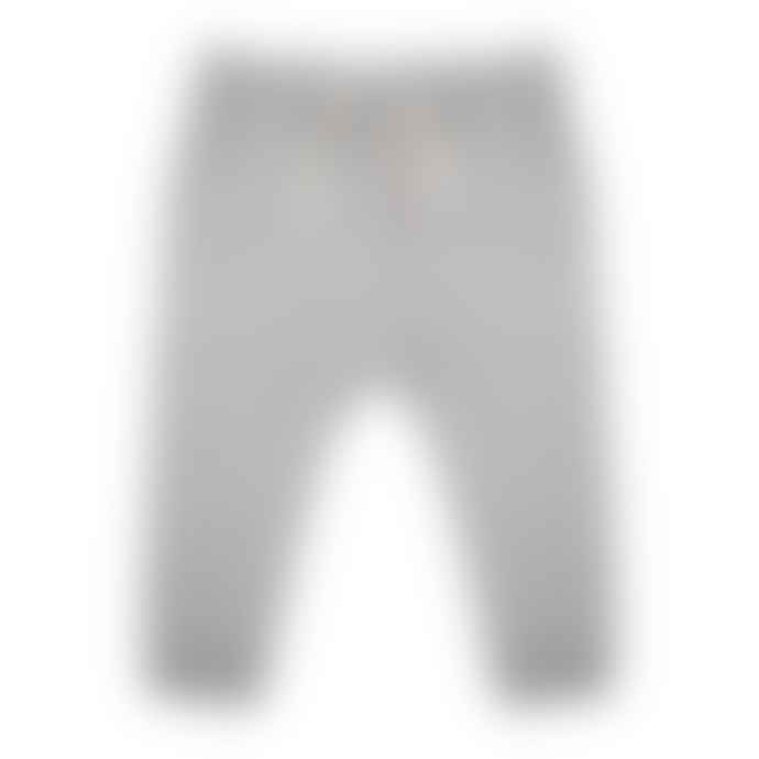 Little Indians Grey Melange Pants