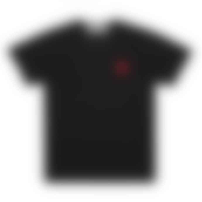Comme Des Garcons Play Black PLAY T-Shirt With Red Heart Logo