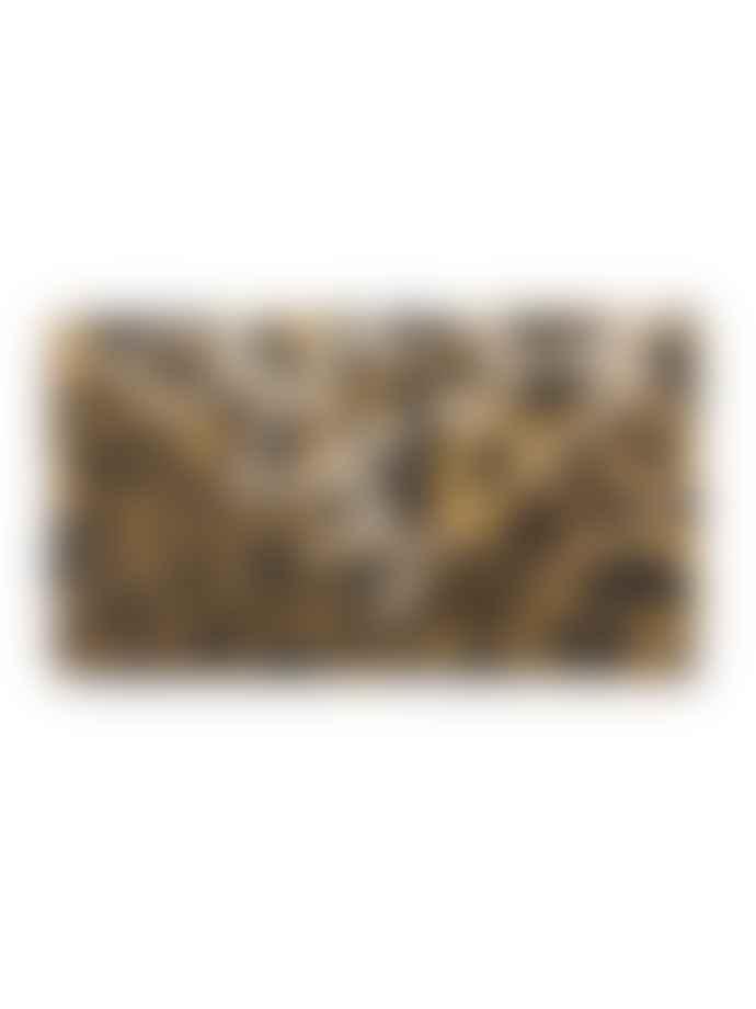WolfWare Small Leopard Envelope Clutch