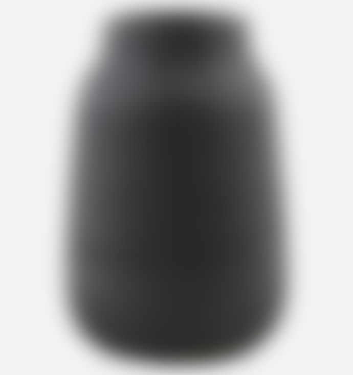 House Doctor Black Groove Vase