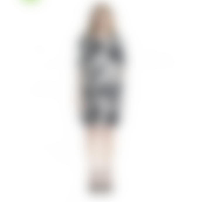 Marimekko  Noppeesti Hulahula Swirl Print Straight Cut Dress