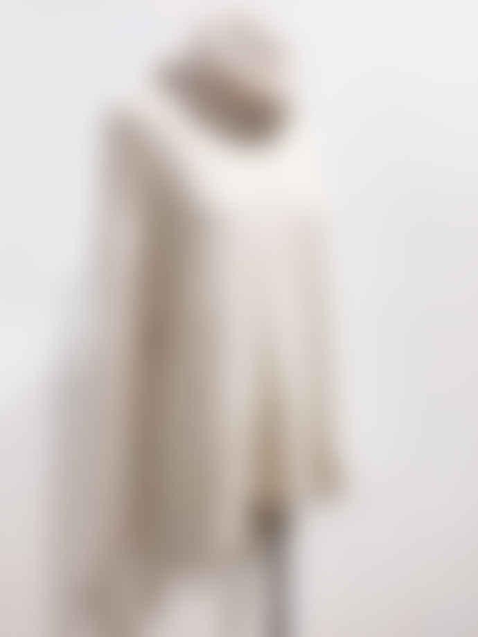 Marimekko  Beige Hua Relaxed Turtleneck Knitted Jersey