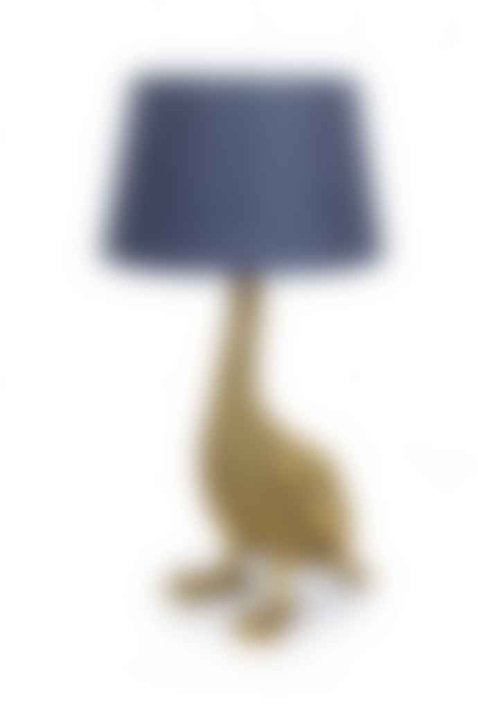 The Sue Parkinson Home Collection Antique Gold Goose Table Lamp