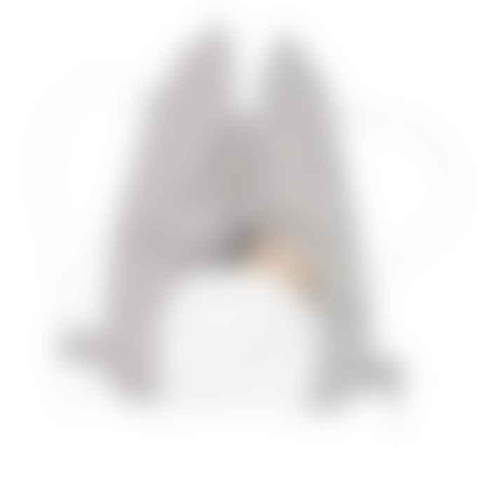 FABELAB Cool Grey Cat Drawstring Bag