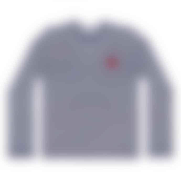 Comme Des Garcons Play Comme des Garçons Striped T-Shirt (Navy/White) P1T010