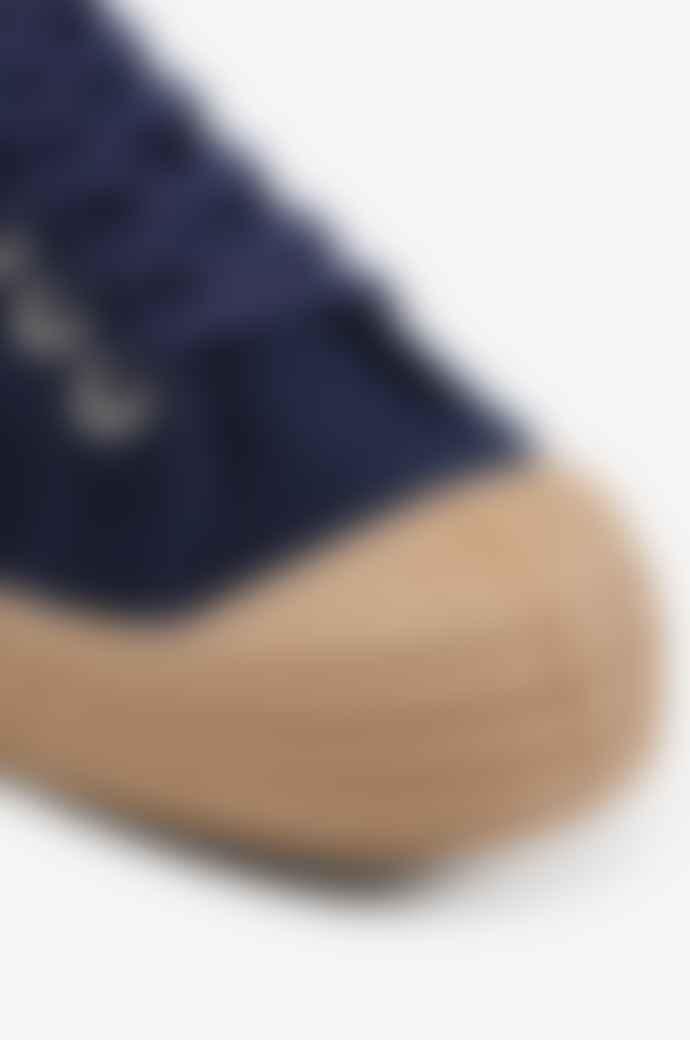 Stutterheim Blue And Beige Rainstar Master Sneaker