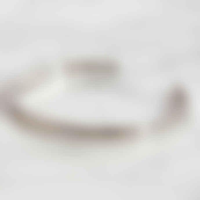 Sienna With Love Silver Textured Cuff Bracelet