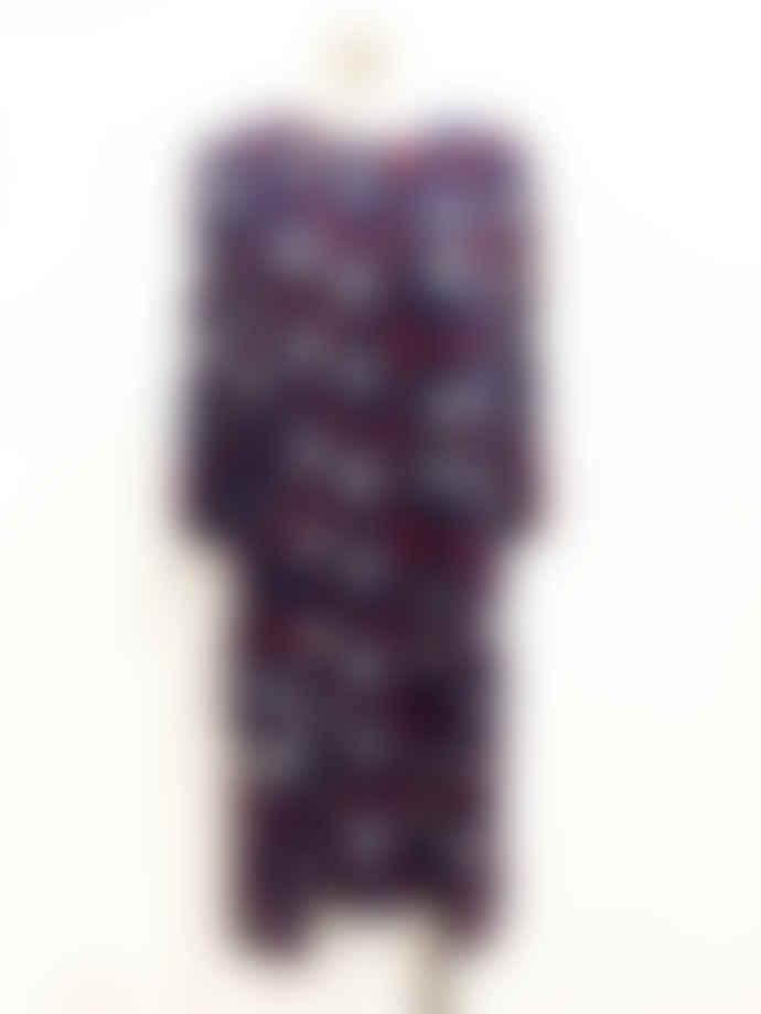Marimekko  Petrina Straight Cut Loose Wide Sleeves Dress