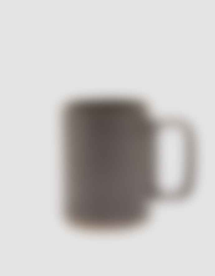 Hasami Porcelain Large Black Porcelain Mug