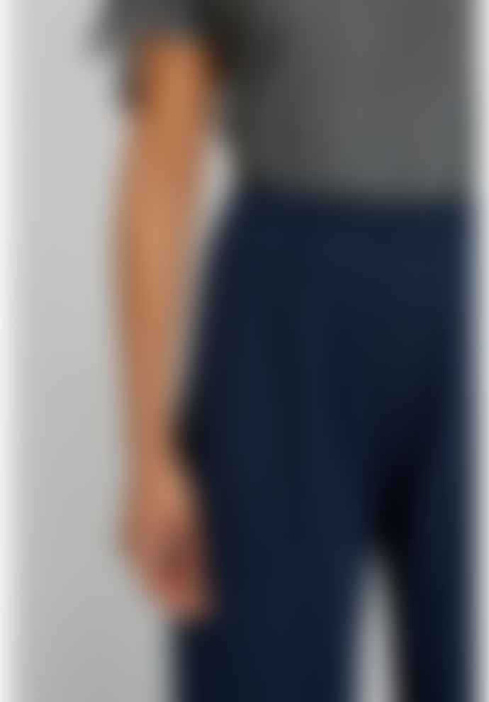 People Tree Navy Organic Cotton Chandre Trousers