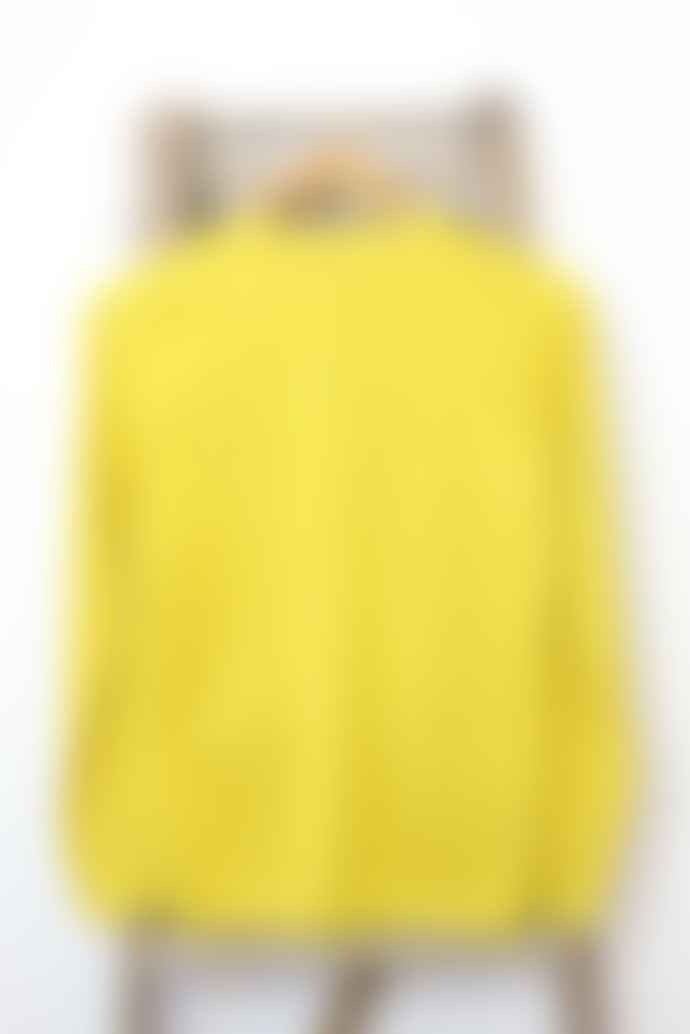 Bella Freud  Yellow Citric 1970 Sparkle Jumper