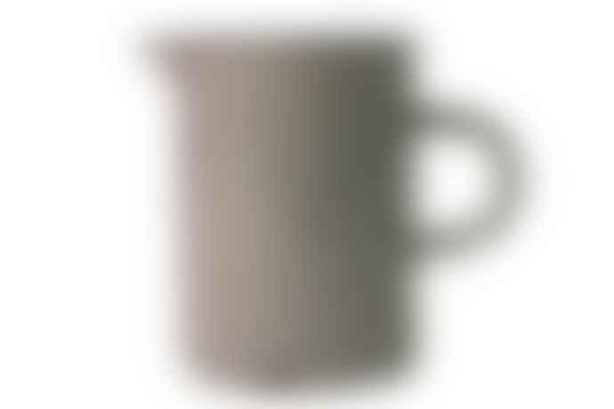 Canvas Homeware Light Grey Vintage Inspired Tinware Cream Milk Jug
