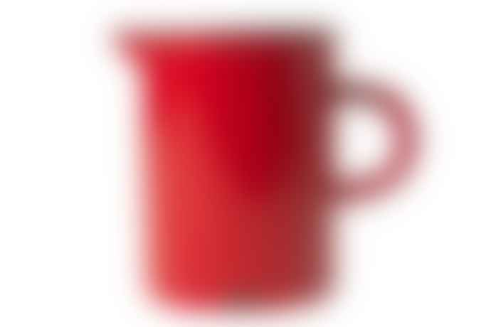 Canvas Homeware Red Vintage Inspired Tinware Cream Milk Serving Jug