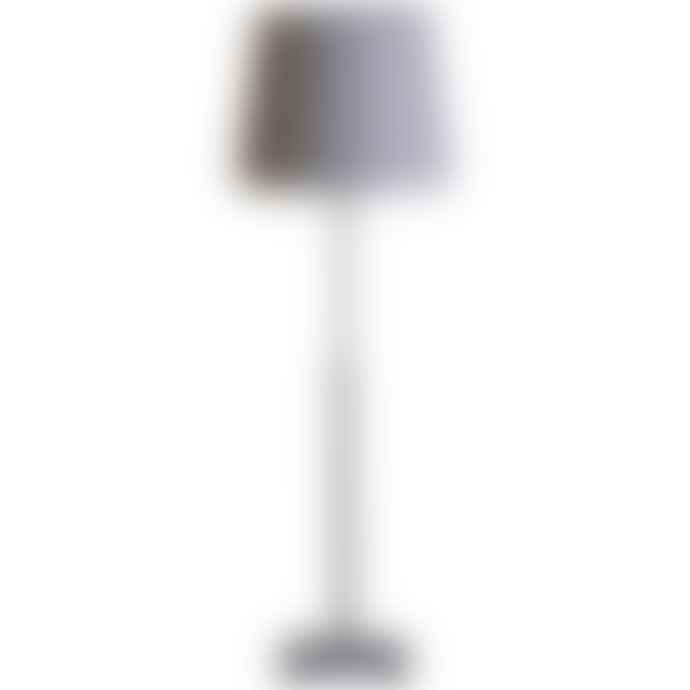 PR Home Grey Metal Table Lamp Base
