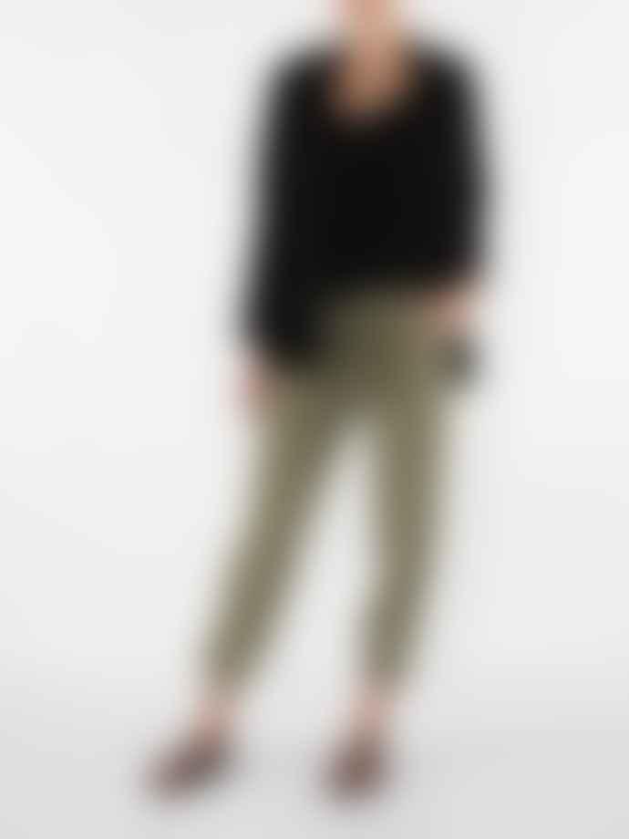 Reiko Ryan Lyocel Woven Trousers Mineral