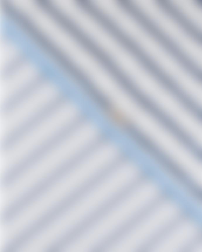 POM Blue Shimmering Stripes Scarf