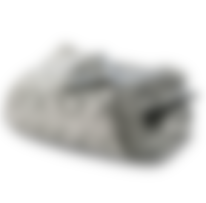 Ian Mankin Grey Hex Cotton Throw
