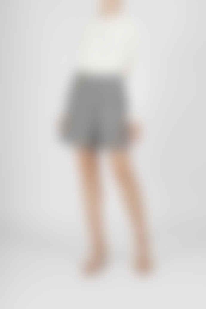 Jovonna London White Becca Frilly Lace Shirt