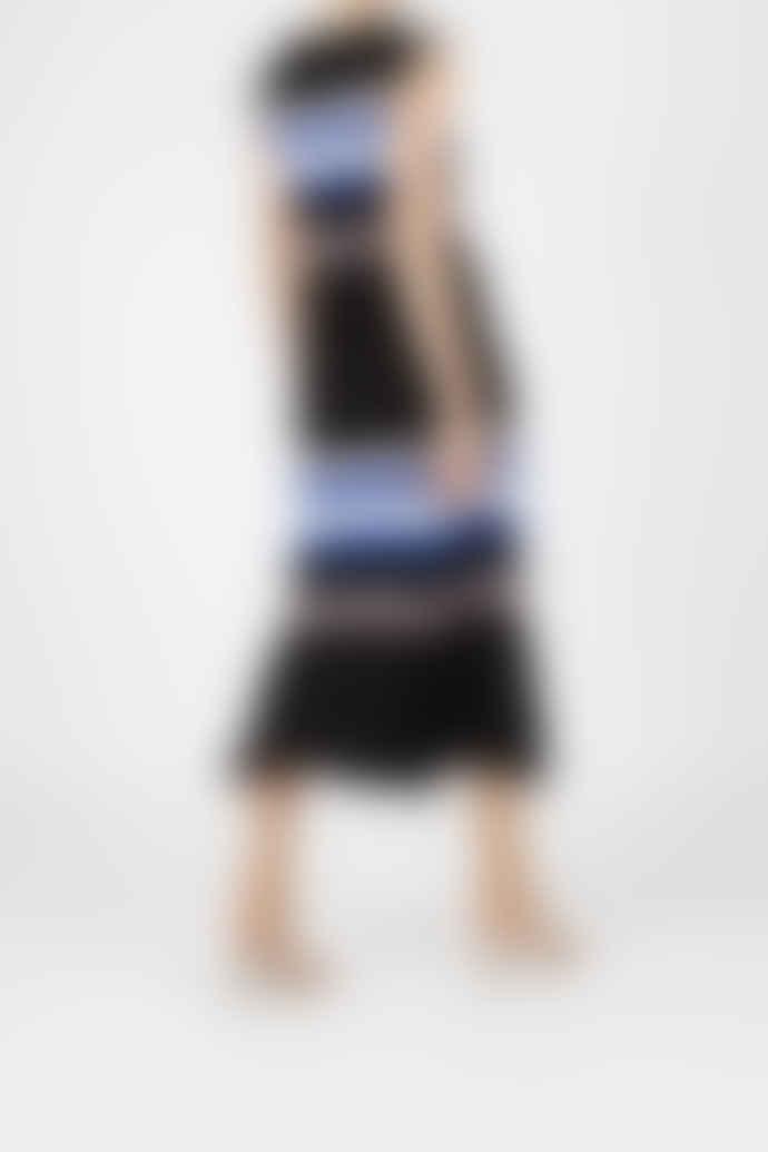 Jovonna London Black Stripe Betty Knitted Top