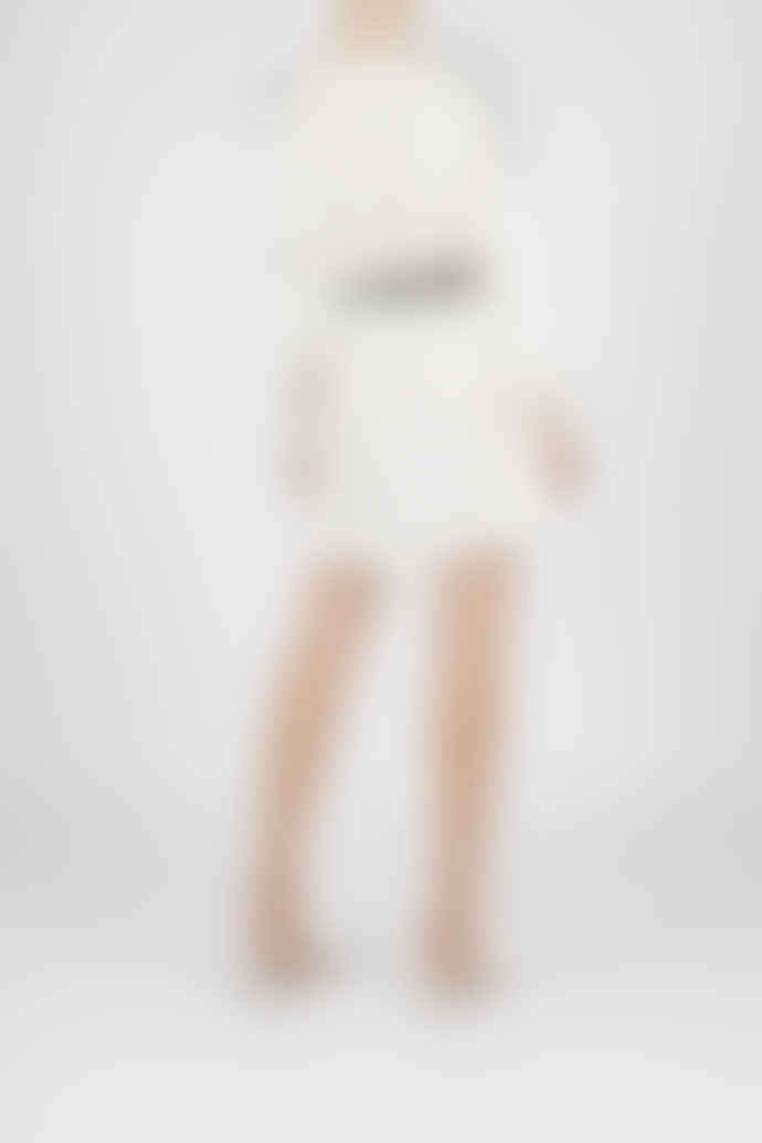 Jovonna London White Dasha Lace Dress
