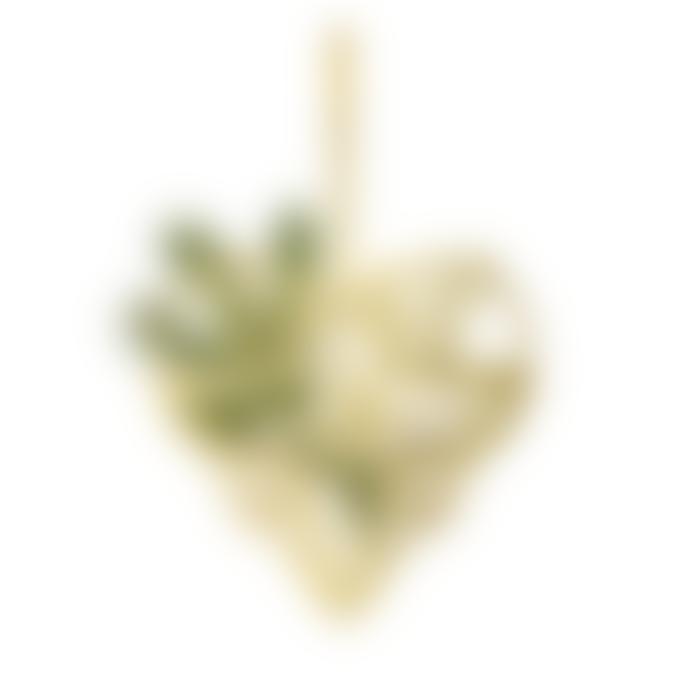 Rosendahl Gold Plated Karen Blixen Heart Hanger
