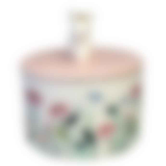 House of disaster Pink Secret Garden Ceramic Mouse Jar