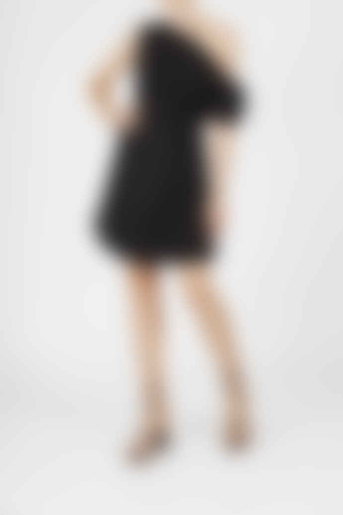 Jovonna London Black Noa Off Shoulders Dress