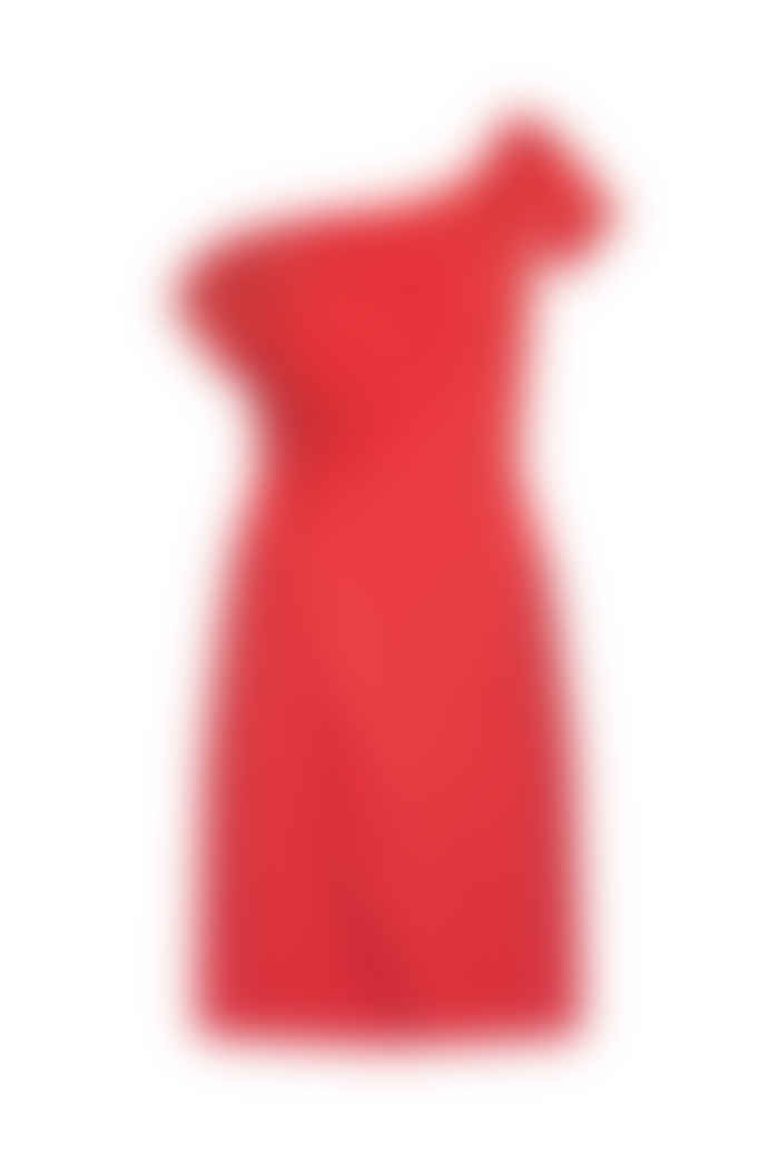 Jovonna London Red Noa Off Shoulders Dress
