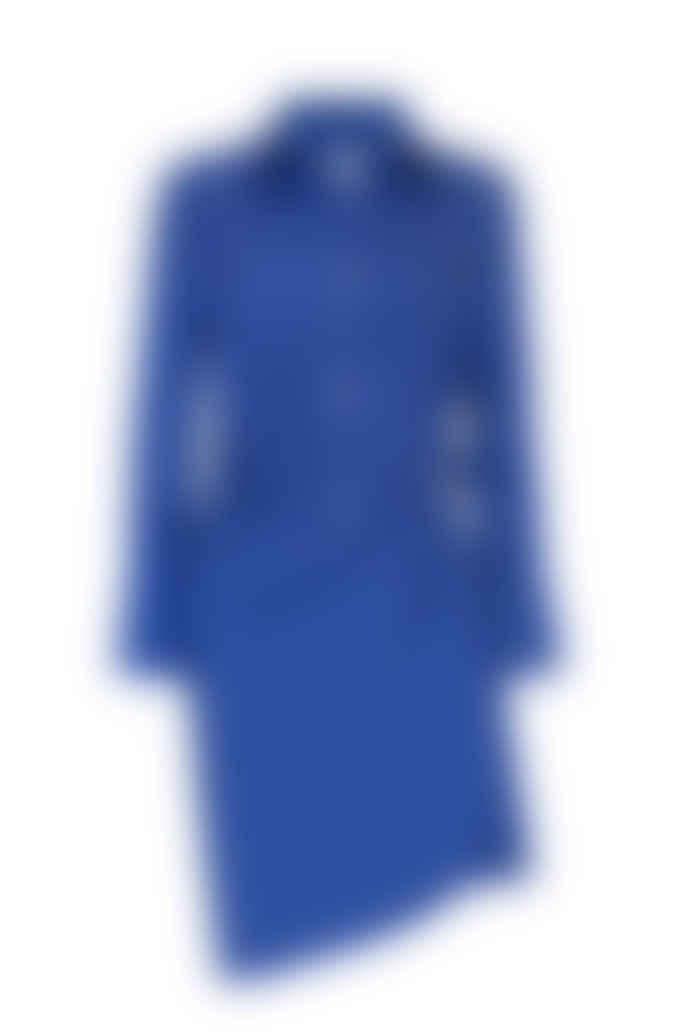 Jovonna London Blue Vesta Wrap Dress