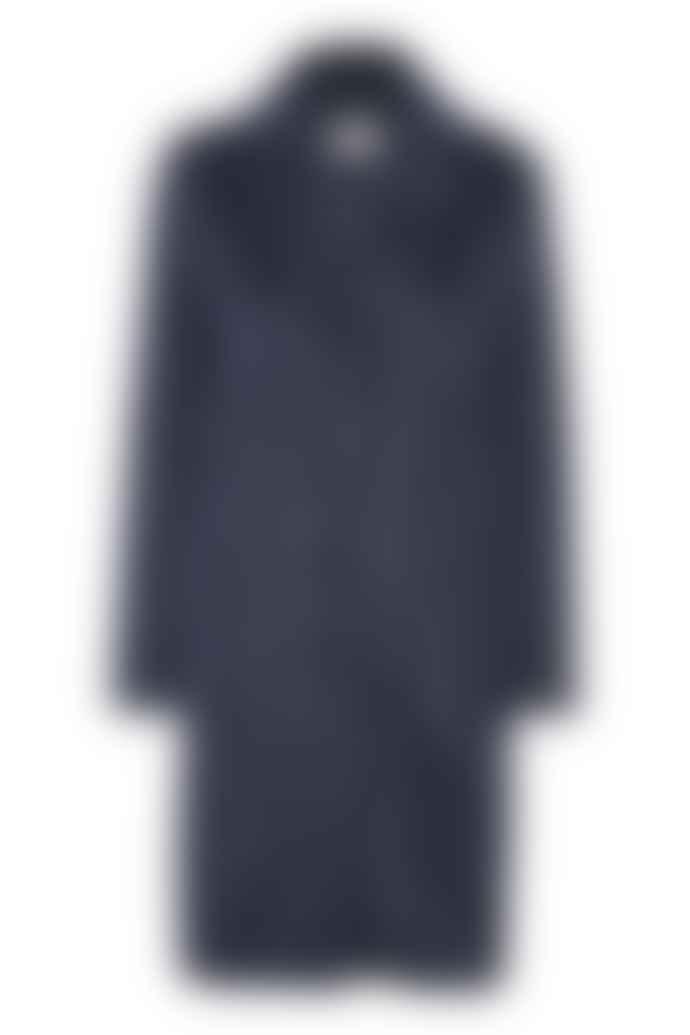 KAFFE Blue Stripe Coat