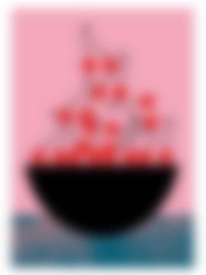 Carolin Löbbert Cherry Poster