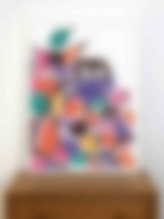 Human Empire Artist Series Multi Color Bird Friends Poster