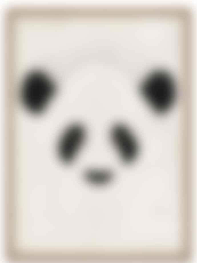 Dieter Braun Off White Giant Panda Poster
