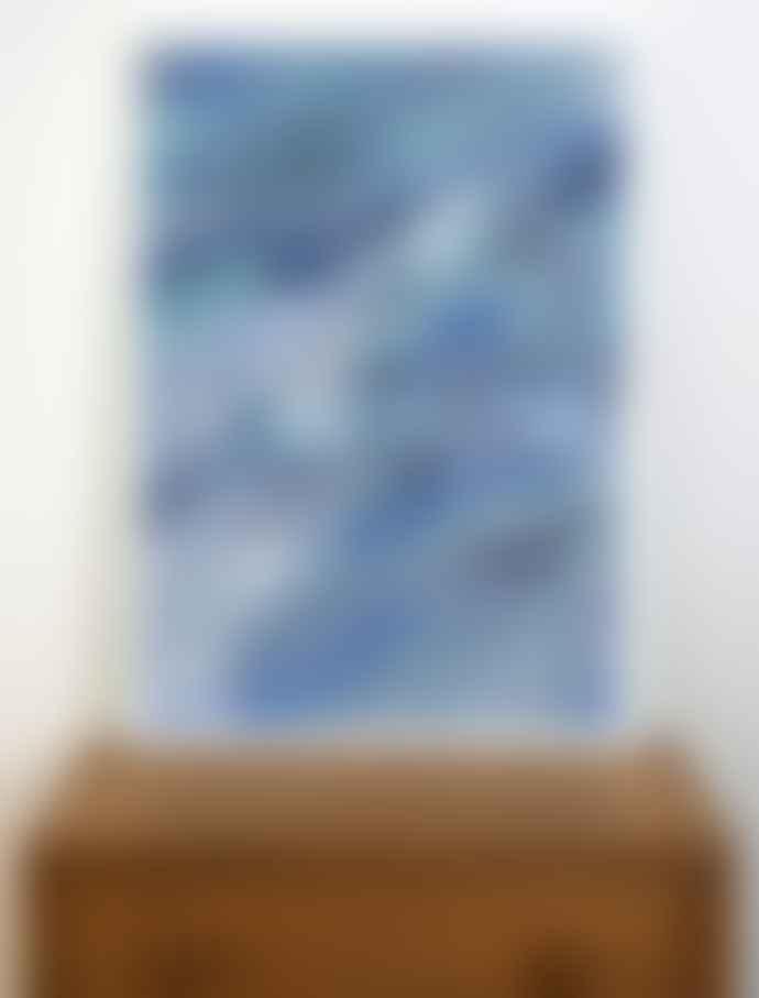 Human Empire Artist Series Blue Ocean Poster