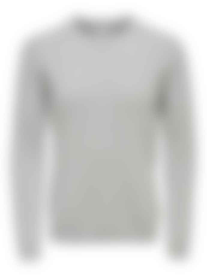 Only & Sons Grey Alex Light Cable Knit Jumper