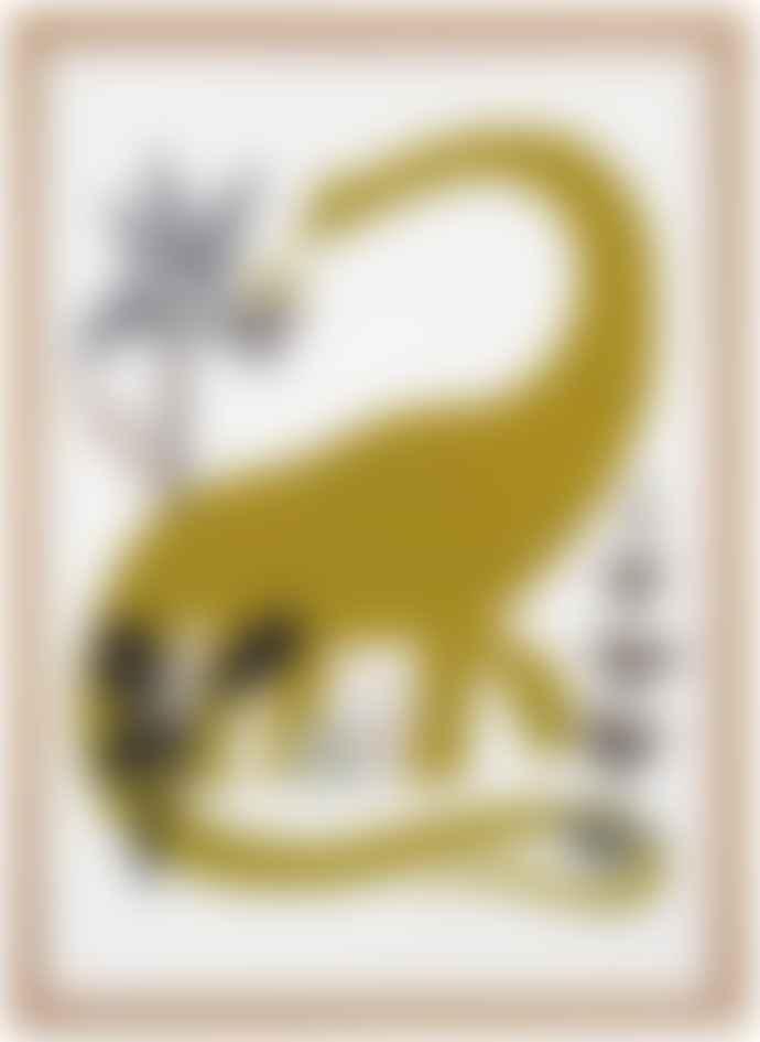 Human Empire Artist Series Dinosaur Poster