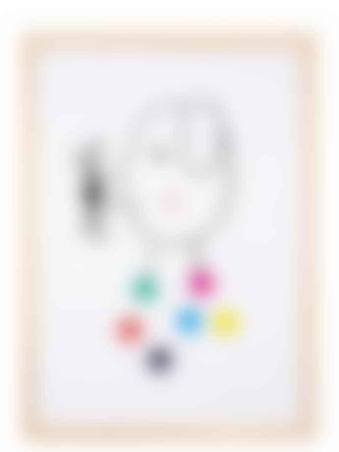 Human Empire Artist Series Confetti Dog Poster
