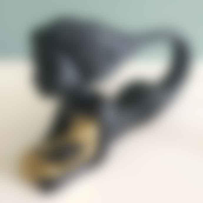 Noush Projects Black Zama Guardian Angel Resin Figurine