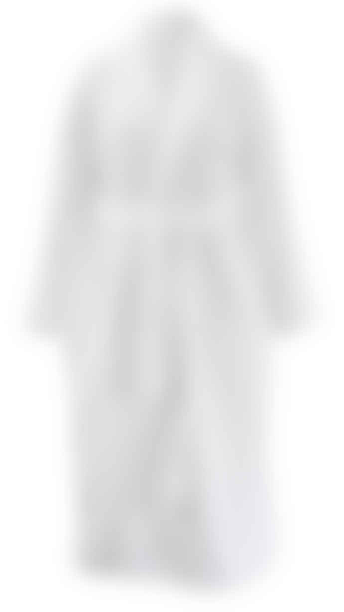 Wallace Cotton White Carter Robe