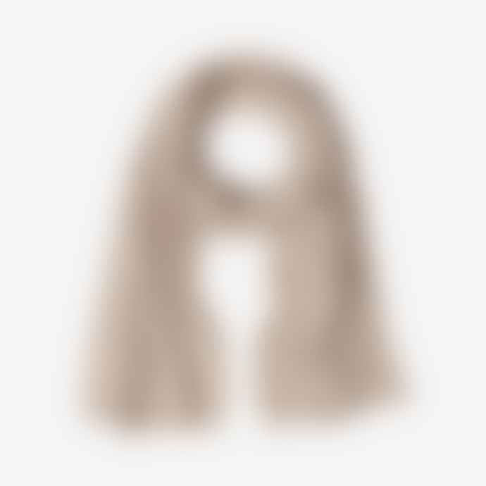 Pur Schoen Hand Felted Cashmere Soft Scarf - Taupe