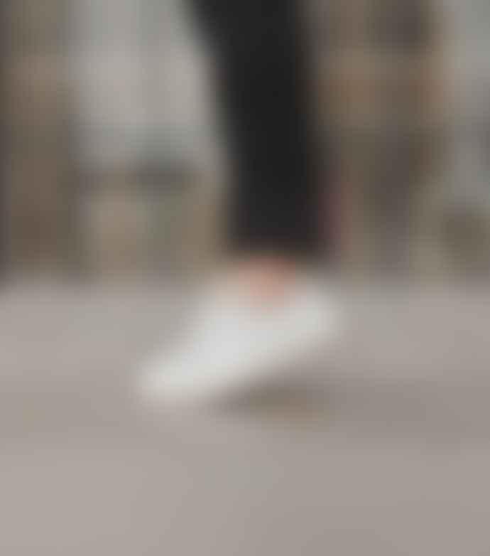 Veja White Esplar Leather Sneakers