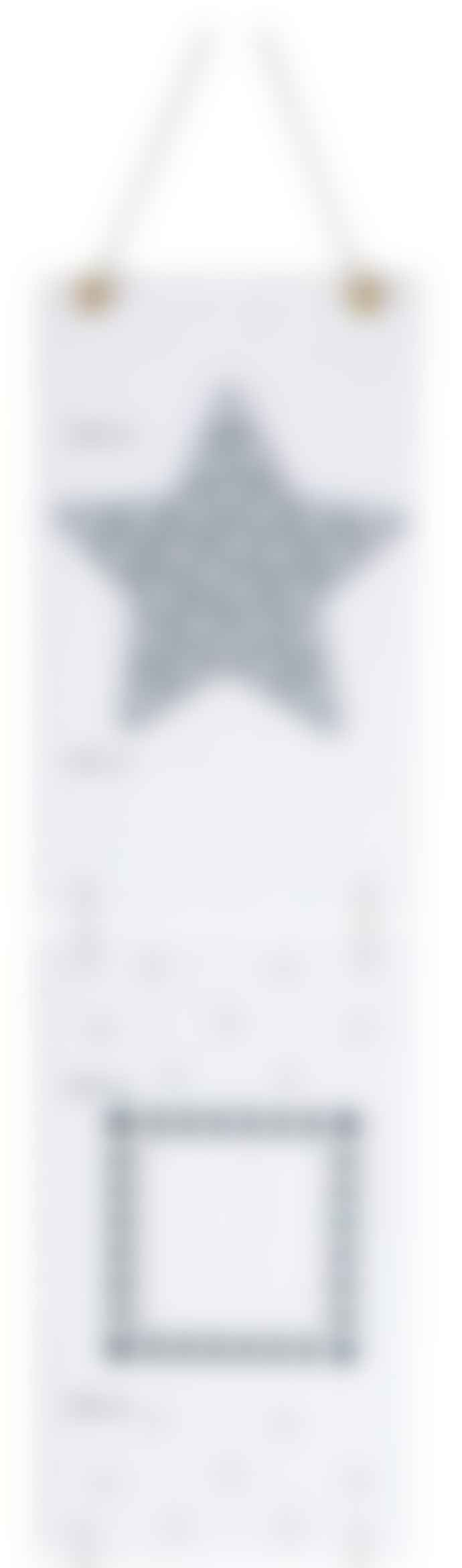 Jabadabadoo  Gray Star Wall Meter
