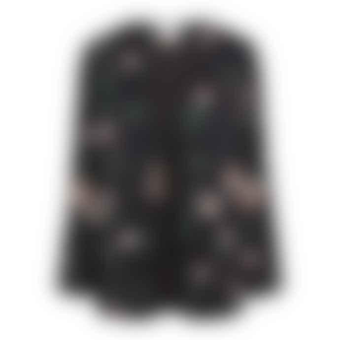 Second Female Florali blazer - Black