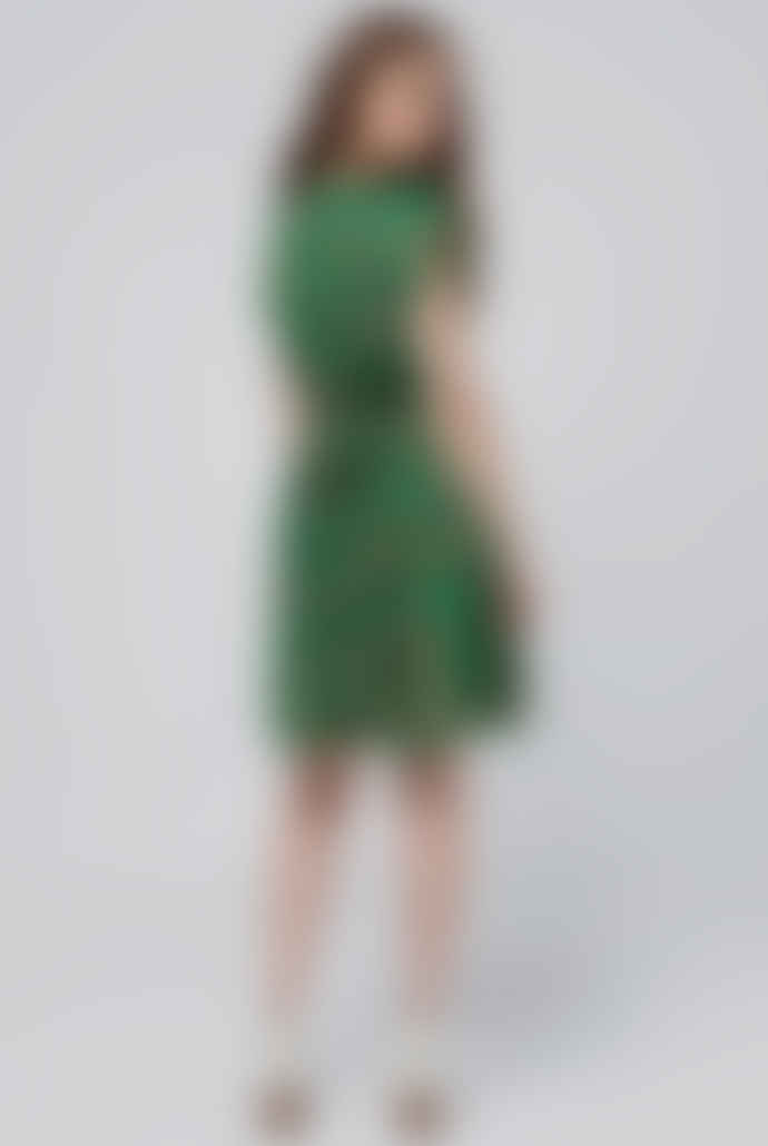 Louche Melita Baneberry Sweetheart Dress