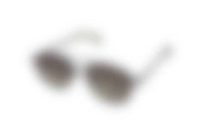 Komono Black Green Alex Sunglasses